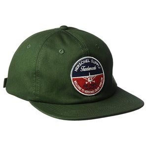 Herschel Men's 172 Cap Green Forest Night Dad Hat